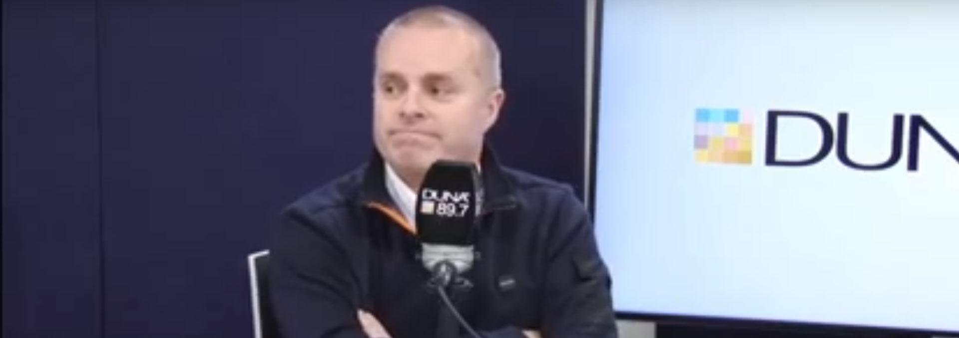 Radio Duna interview with Dr. Hernán González.