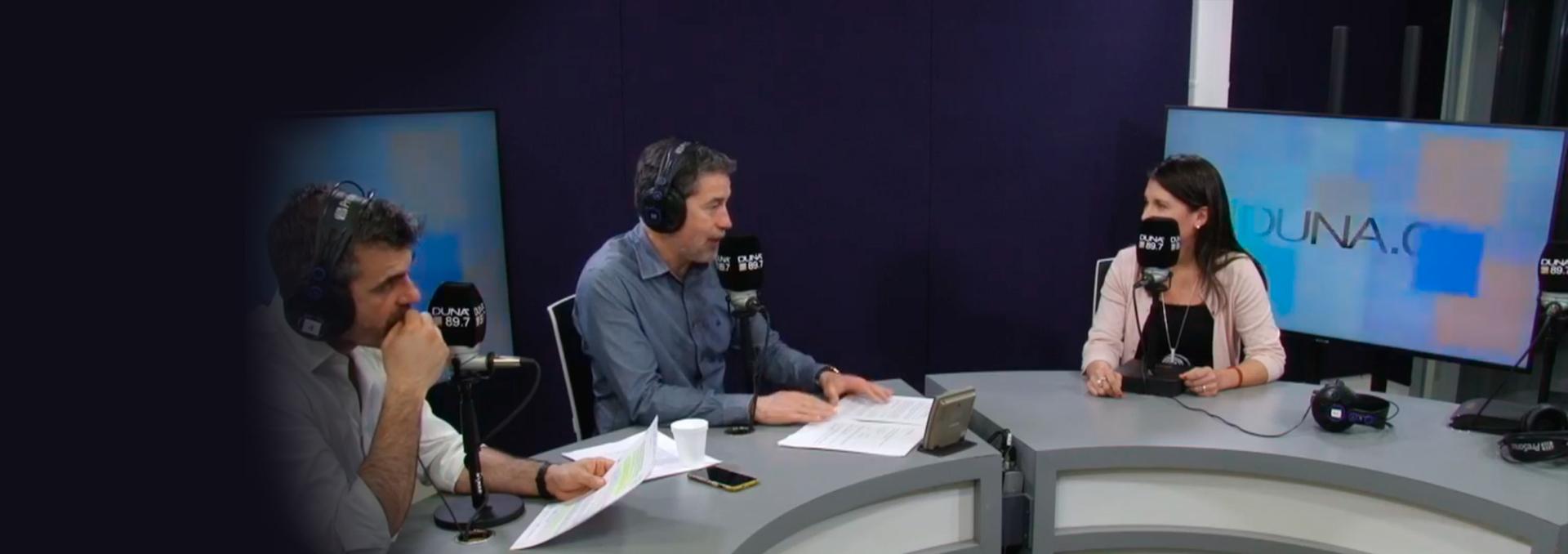 Entrevista Radio Duna a Rebeca Ibacache Consorcio BMRC