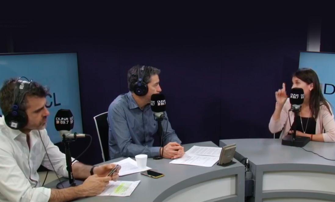 Rebeca Ibacache from BRMC interviewed on DUNA FM