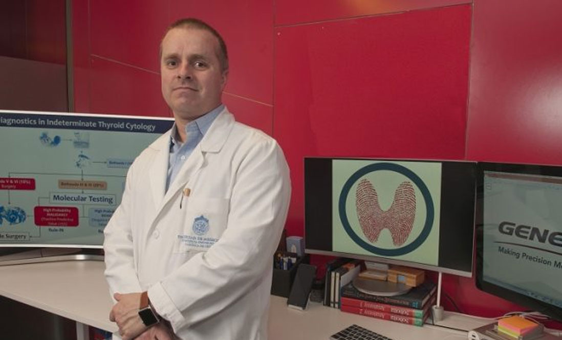 Chilean diagnostic technology that has already avoided thyroid surgery to 37 people