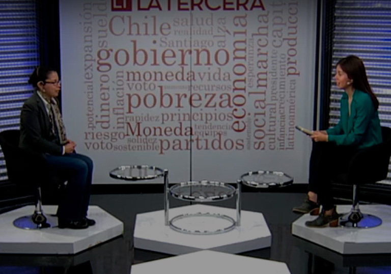 Dr. Susan Bueno, La Tercera TV interview